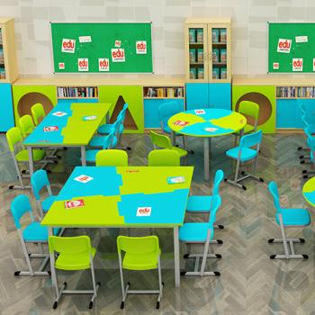 Maths Lab Furniture Manufacturers in Surat