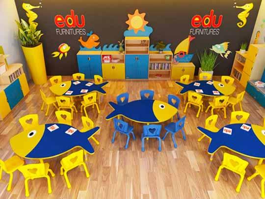 School Furniture Manufacturers in Delhi